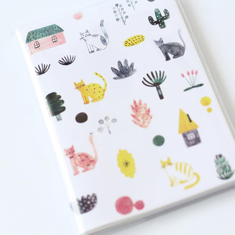 Lovely Flower Weekly Planner Notebook PVC Leather Cover Journal Notes Grid Lined Diary Notepad Kids Student Gift School SuppliesLovely Flower Weekly Planner Notebook PVC Leather Cover Journal Notes Grid Lined Diary Notepad Kids Student Gift School Supplies