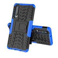 100pcs/lot free shipping 2 in1 Hybrid TPU + PC stand Case for huawei P30 P30 Pro Honor 10 lite/P smart 2019 Honor 8C