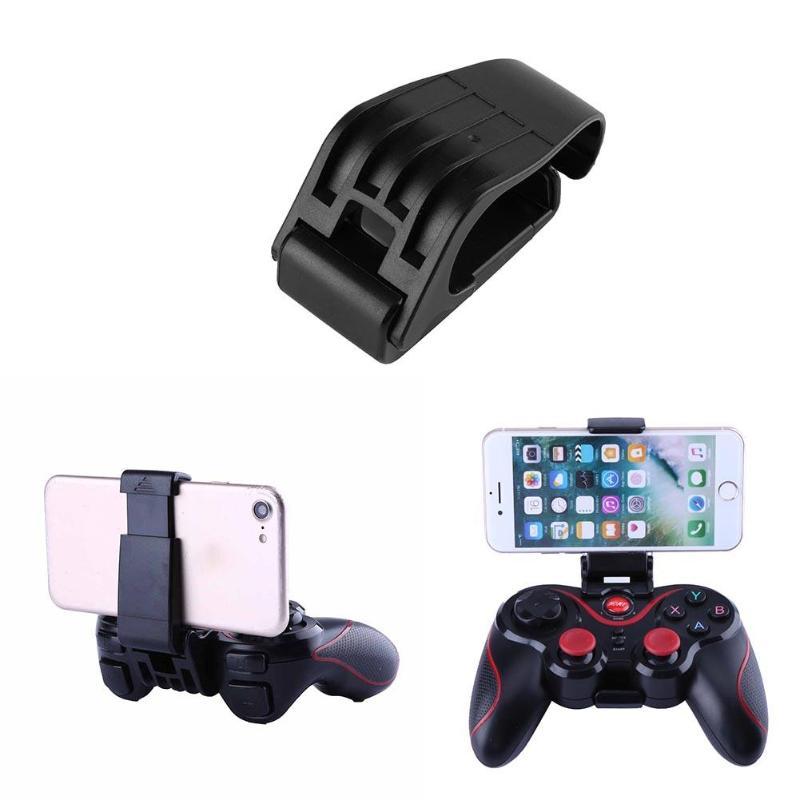 Max 80mm Adjustable Smart Phone Holder Mount for Wireless Game Controller Adjustable Buckle Fits Different Wireless Game Control