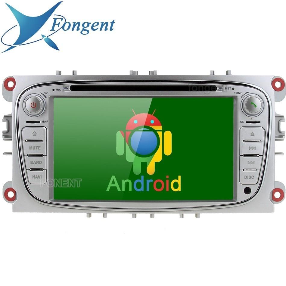 For Ford Mondeo Focus 2007 2011 S Max C Max 2008 2009 2010 2011 Galaxy Kuga Car Radio GPS Navigator Android DVD Multimedia DAB