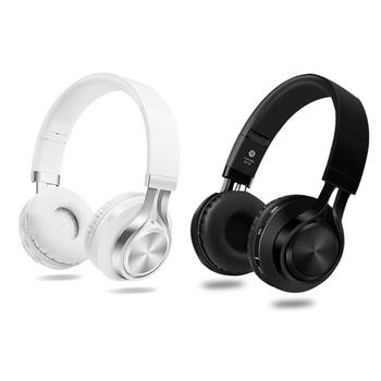 Wireless Bluetooth V4.1 Headphone Mobile Phone Game Headset Folding Type Plug Card Playback Hands-free Call Functions