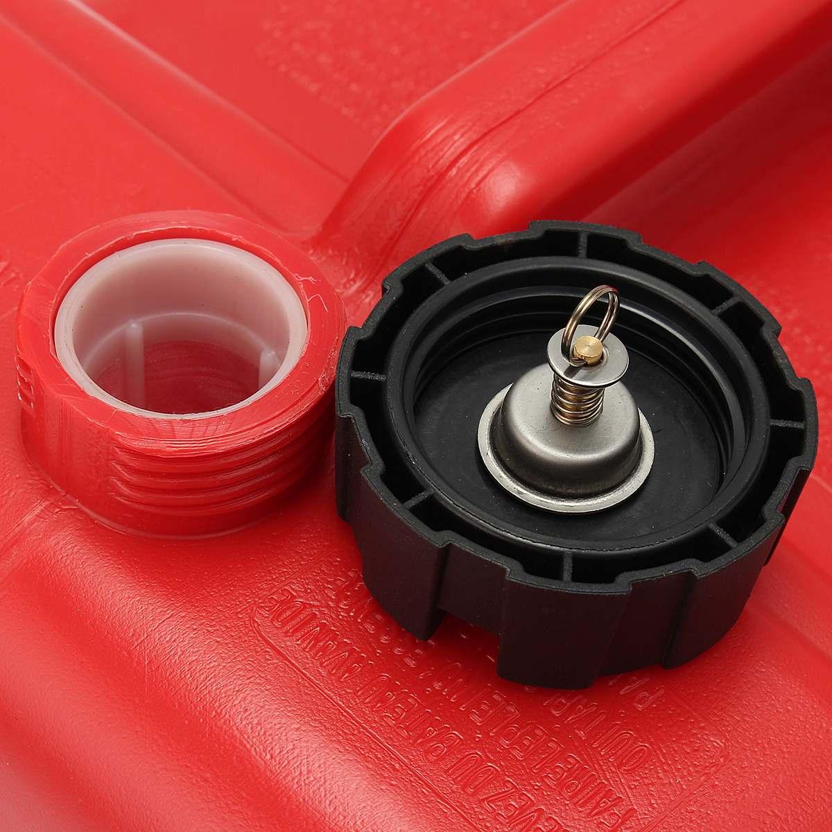 Boîte à huile extérieure Marine de réservoir de carburant de moteur de Yacht de bateau de 12L Portable avec le plastique rouge de connecteur Anti-statique résistant à la Corrosion - 5