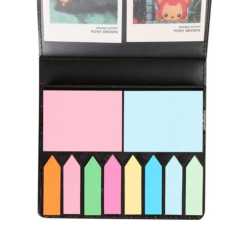 Colored Sticky Note Sets Self-Stick Note Box Sets With Page Markers Index Tabs Flags School Office Supplies Islamabad