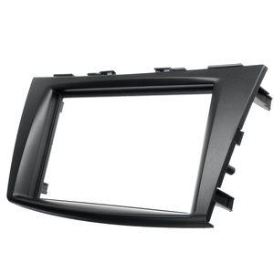 Автомобильная Радио стерео фасция панель Крышка отделка пластина рамка ободок для Suzuki Swift 2011 2012 2013 2014 2015 2016