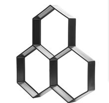 Шестигранная форма для бетона Дорожного Кирпича Пластиковая