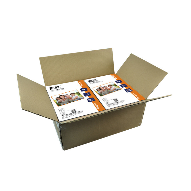 Купить с кэшбэком 51-100 Sheets/Package 5/6/7/8 Inch A3/A4 Photographic Glossy Printer sticker Photo Paper Color Coated For Home Printing 200/230g
