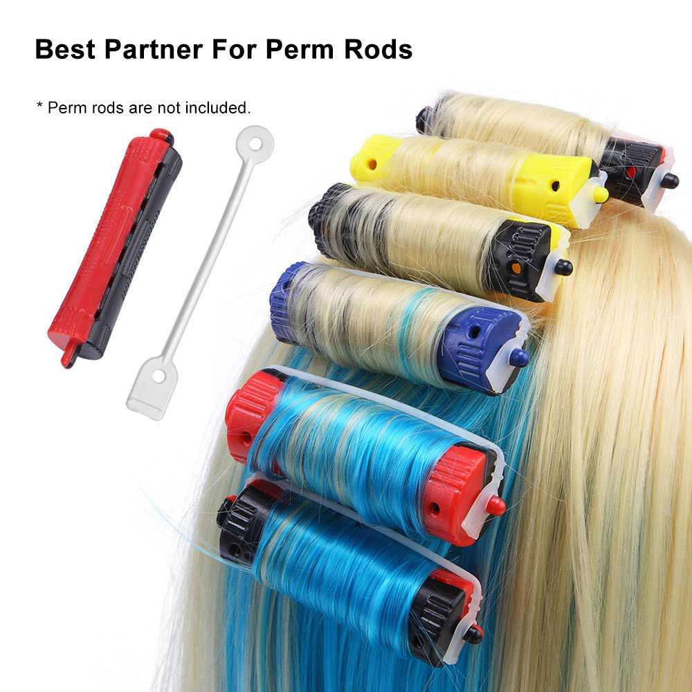 50 шт. салонные стержни с холодной волной, сменные резинки, многоразовые щипцы для завивки волос, щипцы для завивки волос, инструменты для укладки бигуди