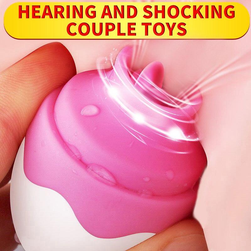 Oral clítoris chupando estimulador lengua vibrador pezón tonto mama ampliar masajeador vibradores sexo juguetes masturbador para las mujeres