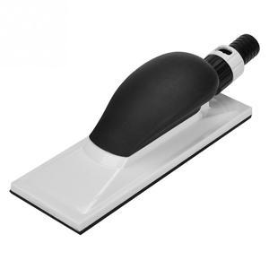 Image 4 - 1Pcs Schleif Block Hand Staub Extraktion Schleif Schwamm Block 20x7cm Staub Kostenloser Block Holzbearbeitung Schleifen Schleifstein polieren Pad