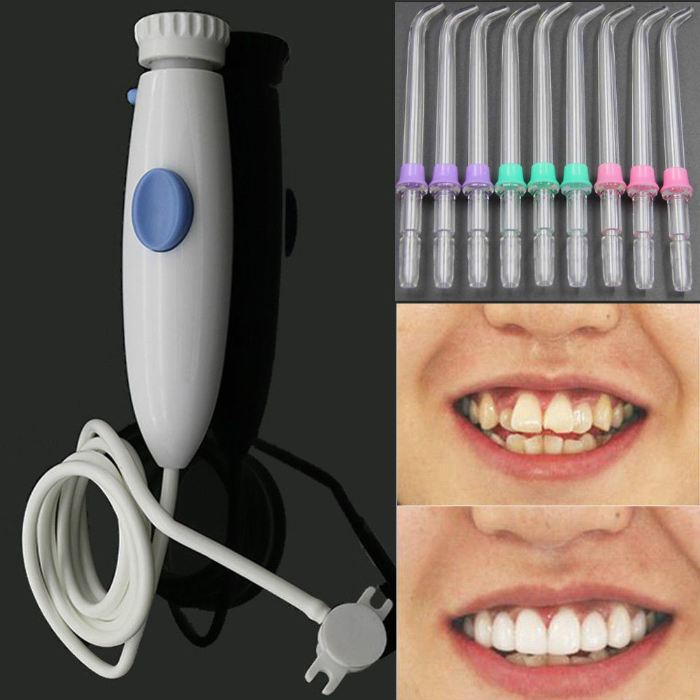 Accessories:  Water Flosser Dental Water Jet Replacement Tube Hose Handle Bathroom Accessories - Martin's & Co
