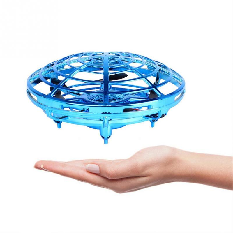Anti-collision Hand UFO Ball Flying Aircraft Drone For Children Boys 2