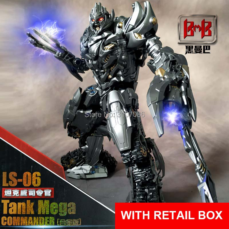 LS06 LS 06 MPP36 Transformation Mega Galvatron Tank Mode Black Mamba mp36 Movie SS13 Oversized Alloy