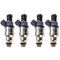 ESPEEDER 4pcs/set 1600cc/min Fuel Injectors Fit Denso Turbo Mazda RX7 RX8 FC3S 13B 20B REW GT R3 2 High Quality Nozzle