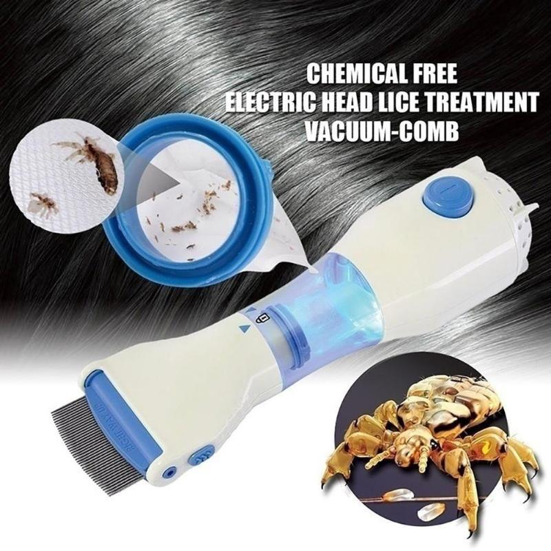 Electric Lice Comb Children Clothes Terminator Anti Removal Kill Lice Cleaner Puppies Fleas For Pet Supplies Children Clothes