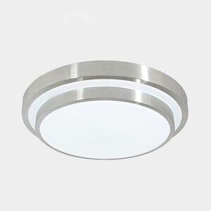 Image 5 - 12 W LED ضوء السقف لمبة عصرية غرفة المعيشة المطبخ الإضاءة سطح جبل دافق لوحة الأبيض/الدافئة أبيض/للتغيير تركيبات