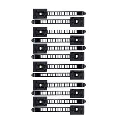 100 Pcs Adjustable Cable Clips Self-Adhesive Cord Fixer Wire Clamp Strap Holder Dropship used in computer electronics