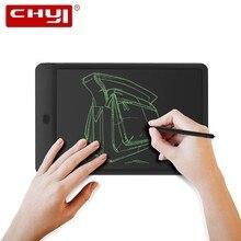 CHYI Портативный 10 дюймов ЖК-дисплей планшет для письма цифровой рисунок доска с крепящимся механизмом электронный мини для рукописного ввода графический планшет для детей подарок