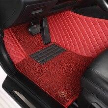 цена на Myfmat custom foot leather car floor mats for AUDI A4 A4L A6L A6 A1 A7 A8 A3 SQ5 RS-5 Rs-7 Q3 Q5 Q7 R8 TT AUDI100 S3 S5 S6 S8 S7