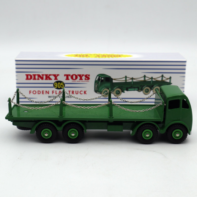 Atlas Dinky Supertoys No.905 Foden Flat Truck With Chains Mint/boxed Diecast Models Collection Gift