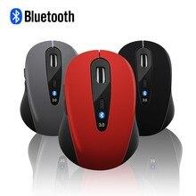 CHYI Bluetooth беспроводная эргономичная компьютерная мышь оптическая игровая мышь 6 кнопок красный синий Blutooth 1600 dpi Мини ПК мыши для ноутбука