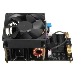 Image 3 - 1 PC ZVS 誘導加熱機冷却ファン PCB 銅管 12 36 V 1000 ワット 20A 高周波誘導加熱機モジュール