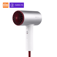 2018 New Xiaomi Soocare Soocas H3 H3S Anion Hair Dryer Aluminum Alloy Body 1800W Air Outlet Anti Hot Innovative Diversion Design