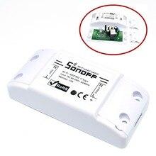 10pcs 와이파이 스위치 DIY 무선 원격 Domotica 라이트 스마트 홈 자동화 릴레이 모듈 컨트롤러 알렉사와 함께 작동