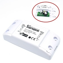 10pcs Wifi Switch DIY Wireless Remote Domotica Light Smart Home Automation Relay Module Controller Work with Alexa