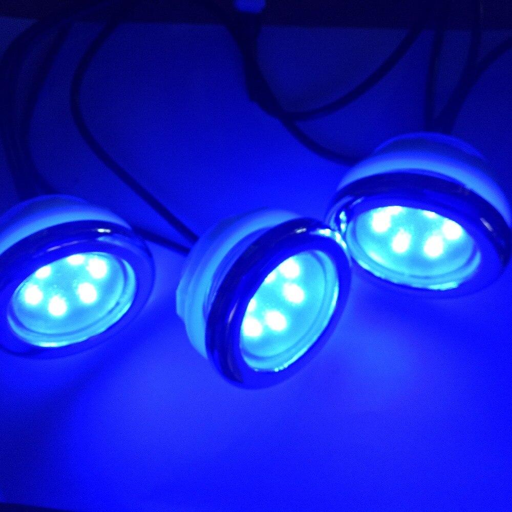 4pcs waterproof led RGB underwater led lamp spa led bath tub light with 1pc light controller