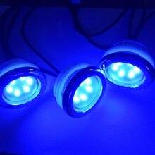 4 шт. водостойкий светодиодный RGB подводная Светодиодная лампа spa led для ванной Ванна свет с 1 подсветка для ПК контроллер
