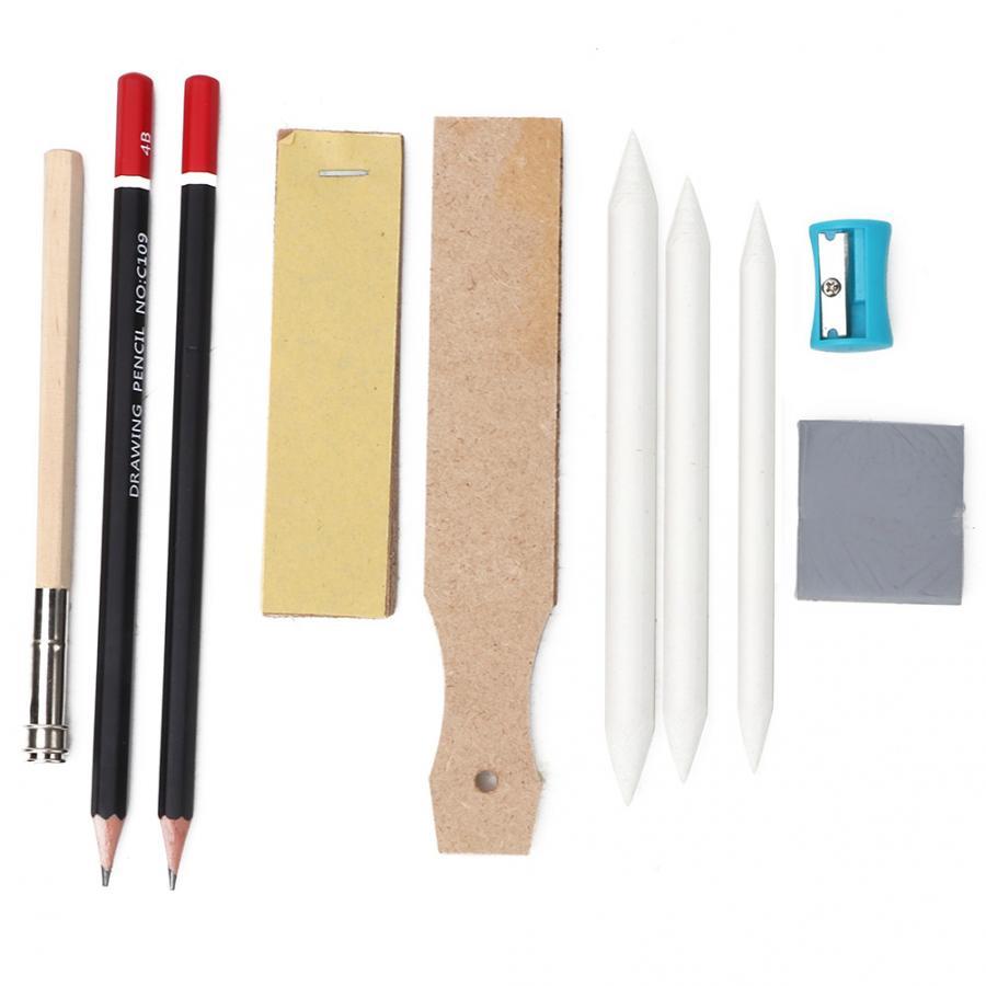 Telefon Tool Telefon Reparatur Werkzeug 10 Pcs Skizze Werkzeug Set Mit Professional Grade Holzkohle Bleistift Weich Und Zart Material Reparatur