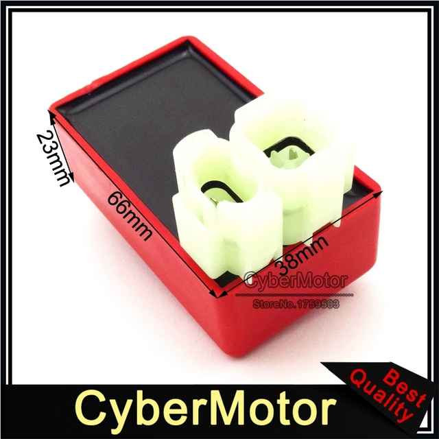 Red 6 Pin AC Ignition CDI Box For Chinese GY6 50cc 125cc 150cc Engine Moped Scooter ATV Quad Buggy Go Kart