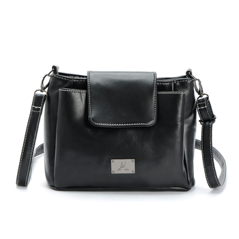 Casual Messenger Bag Messenger Bag Metal Decoration Ms. Three-dimensional Zipper Soft Joker New Shoulder Bag Сумка