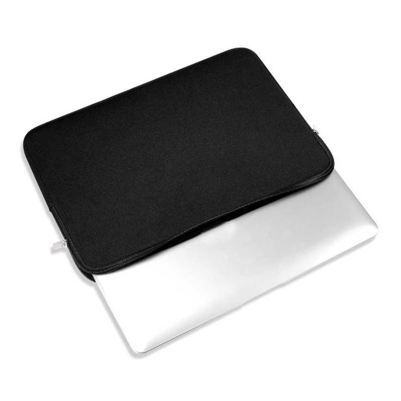 """新ポータブルラップトップケーススリーブコンピュータポケット 11 """"12"""" 13 """"15"""" 15.6"""" macbook Pro の空気網膜キャリー 14 インチ"""
