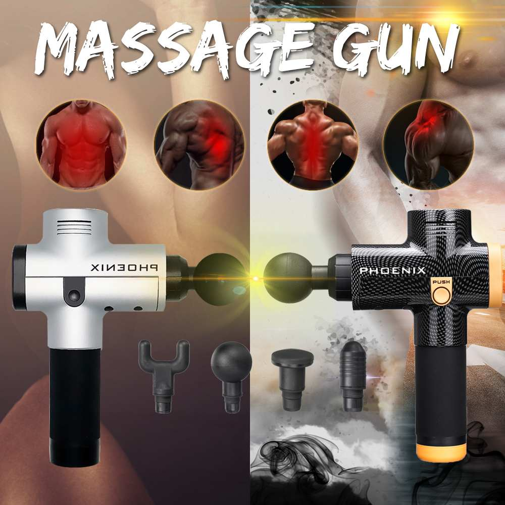 3 Files Electronic Therapy Body Massage Guns High Frequency Vibrating Brushless Led Massage Guns For Body Relaxing Relief Pains3 Files Electronic Therapy Body Massage Guns High Frequency Vibrating Brushless Led Massage Guns For Body Relaxing Relief Pains