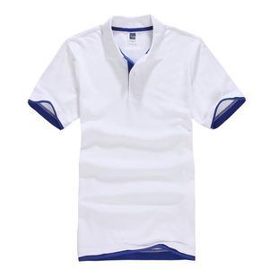زائد حجم XS-3XL العلامة التجارية الجديدة الرجال قميص بولو عالية الجودة الرجال القطن قصيرة الأكمام قميص الماركات الفانيلة الصيف رجالي قمصان بول...