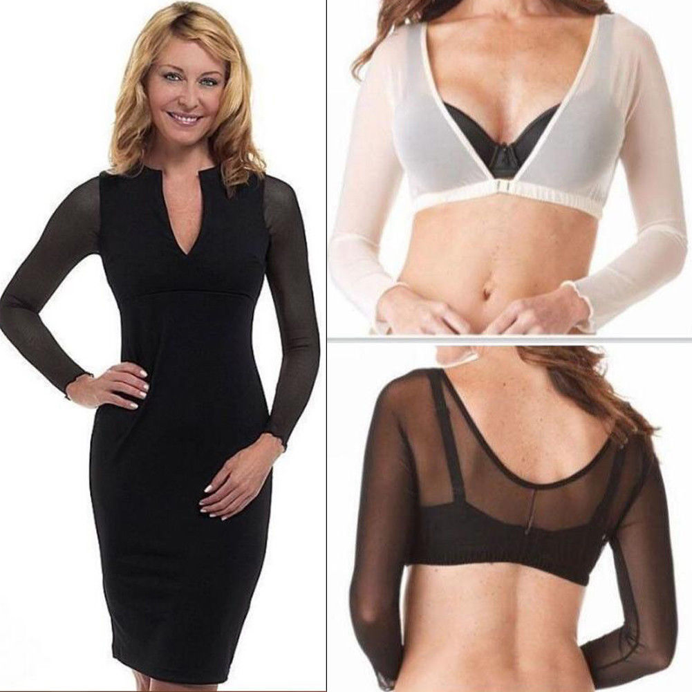 Women Slimmer Thinner Amazing Arms Top Lady Girls From Flab To Fab Lightweight Wrap Armwear