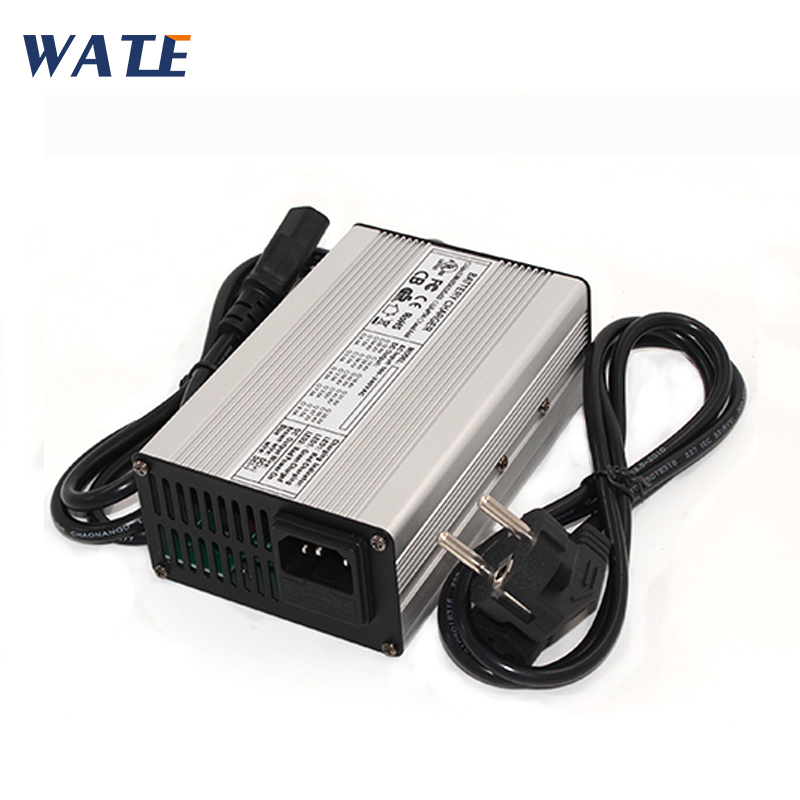46.2V 4A Li-ion Battery <font><b>Charger</b></font> 11S 40.7V automatic battery <font><b>charger</b></font> for <font><b>golf</b></font> <font><b>cart</b></font> and <font><b>electric</b></font> car image