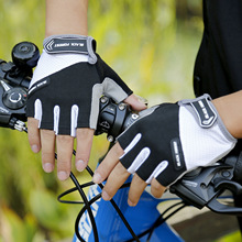 цена на CoolChange bike Gloves Half Finger Mens Women's Summer Sports Shockproof Bike Gloves GEL MTB Bicycle Gloves Guantes Ciclismo