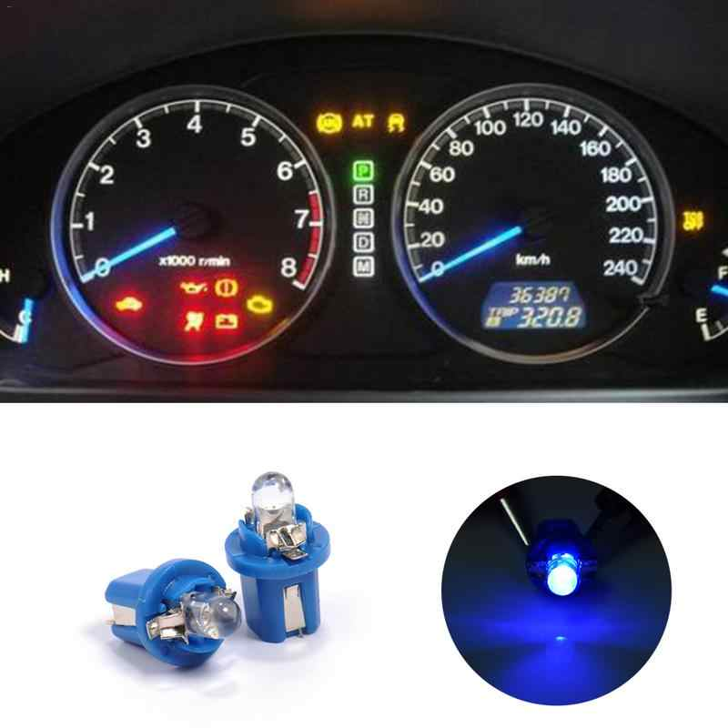 T5 B8.5D Round Instrument Lights Super Bright 1LED Instrument Lights Convex Reading Lights Car Door Lights