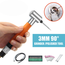 Portable 90° Degree 3MM Pneumatic Micro Grinder Angle Air Micro Die Pencil Polisher Tool for Engraving wo milano полусапоги и высокие ботинки