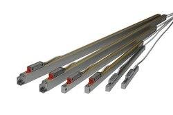 Ditron 0-1100 Mm 1um Resolutie Lineaire Optische Schaal, DB9 Plug Ttl Signaal Lineaire Glazen Schaal