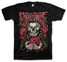 BULLET FOR MY VALENTINE - Bleeding Heart - T SHIRT S-M-L-XL Brand New - Official Men T-Shirt Short Sleeve Round Neck все цены