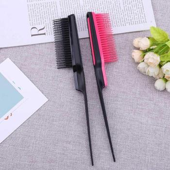 1PC Pointed Tail Comb Prevent Hair Loss Hair Brush Salon Barber Hair Styling Tail Comb Professional Hair Tools image