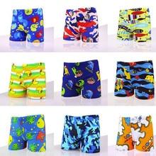 Детские плавки с рисунками; пляжные шорты с животными; Лидер продаж; Весенний купальный костюм размера XL; плавки; От 1 до 14 лет для мальчиков