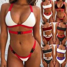 Summer Ladies Padded Push-up Pretty New Stylish Bikini Beach Swimsuit Bathing Suit Swimwear Beachwear
