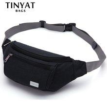 7bffa7019 TINYAT Homens Cinto Saco Da Cintura bolsa de Viagem Pacote de Telefone Saco  Bolsa para Mulheres
