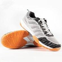 Мужская и женская Нескользящая дышащая обувь для настольного тенниса; уличные спортивные кроссовки для тренировок; износостойкая обувь унисекс для бадминтона; DH027