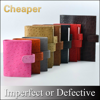Limited Imperfect Genuine Leather Rings Notebook Binder Agenda Organizer Diary Journal Sketchbook Planner Big Pocket