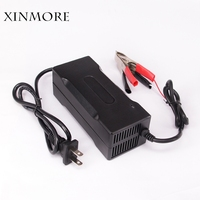 XINMORE 25.2V 4A 3A Lithium Battery Charger For 22.2V Ebike E bike Li Ion Lipo Li Ion Battery Pack Cooling